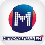 Logo da emissora Rádio Metropolitana 98.9 FM