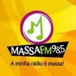 Logo da emissora R�dio Massa 98.5 FM
