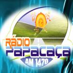 Logo da emissora Rádio Papacaça 1470 AM