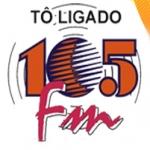 Logo da emissora R�dio 105 FM Utinga