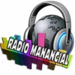 Logo da emissora Rádio Manancial Gospel
