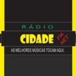Logo da emissora Cidade FM Net