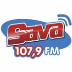 Logo da emissora Rádio Sava 107.9 FM