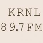 Logo da emissora KRNL 89.7 FM