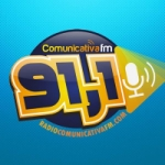 Logo da emissora Rádio Comunicativa FM 91.1