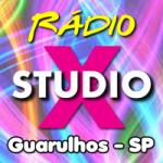 Logo da emissora Rádio Studio X