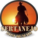 Logo da emissora Sertanejo Bom Demais