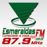 Logo da emissora Rádio Esmeraldas 87.9 FM
