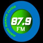 Logo da emissora Radio Santa Luzia FM 87.9