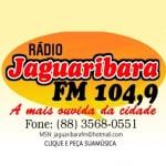 Logo da emissora R�dio Jaguaribara 104.9 FM