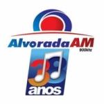 Logo da emissora Rádio Alvorada 900 AM