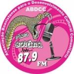 Logo da emissora R�dio Boiuna 87.9  FM