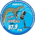 Logo da emissora Rádio Boiuna 87.9  FM