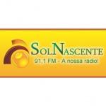 Logo da emissora R�dio Sol Nascente 91.1 FM