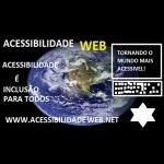Logo da emissora Rádio Acessibilidade Web 107 fm