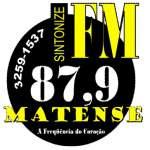 Logo da emissora Rádio Matense FM 87.9