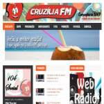 Logo da emissora Rádio Cruzília FM 104.9