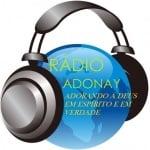 Logo da emissora Radio Adonay FM