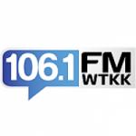 Logo da emissora Radio WTKK 106.1 FM