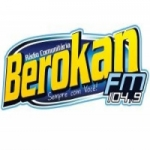 Logo da emissora Rádio Berokan 104.9 FM