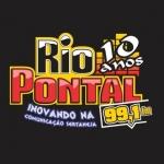 Logo da emissora Rádio Rio Pontal 99.1 FM