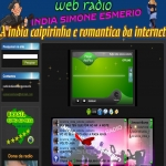 Logo da emissora R�dio �ndia Simone Esmerio