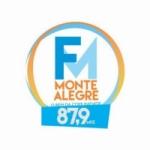 Logo da emissora Rádio Monte Alegre 87.9 FM