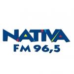 Logo da emissora R�dio Nativa 96.5 FM