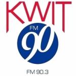 Logo da emissora Radio KWIT 90.3 FM