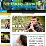 Logo da emissora Rádio Evangélica Difusora Eliom