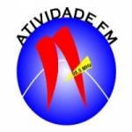 Logo da emissora Rádio Atividade 98.5 FM