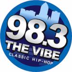 Logo da emissora Radio KWQW 98.3 The Vibe FM