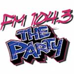 Logo da emissora Radio KZTP 104.3 The Party FM