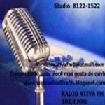 Logo da emissora Web Radio Ativa FM