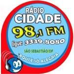 Logo da emissora R�dio Cidade 98.1 FM