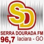 Logo da emissora Rádio Serra Dourada 96.7 FM