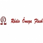Logo da emissora Rádio Ômega Flash