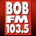 Logo da emissora Bob 103.5 FM