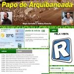 Logo da emissora R�dio Papo de Arquibancada