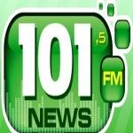 Logo da emissora R�dio 101 News FM