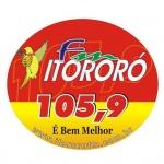 Logo da emissora Rádio Itororó 105.9 FM