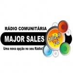 Logo da emissora R�dio Comunit�ria Major Sales 104.9 FM