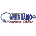 Logo da emissora Rádio Macaparaná Católica