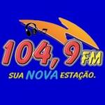 Logo da emissora Rádio Nova 104 FM