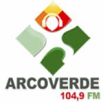 Logo da emissora Rádio Arcoverde 104.9 FM