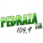 Logo da emissora Rádio Pedraza 104.9 FM