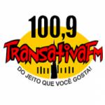 Logo da emissora Rádio Transativa 100 fm