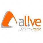 Logo da emissora Radio Alive FM 89.9