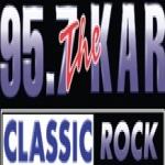 Logo da emissora KARX 95.7 FM