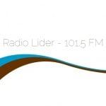 Logo da emissora Rádio Líder 101.5 FM